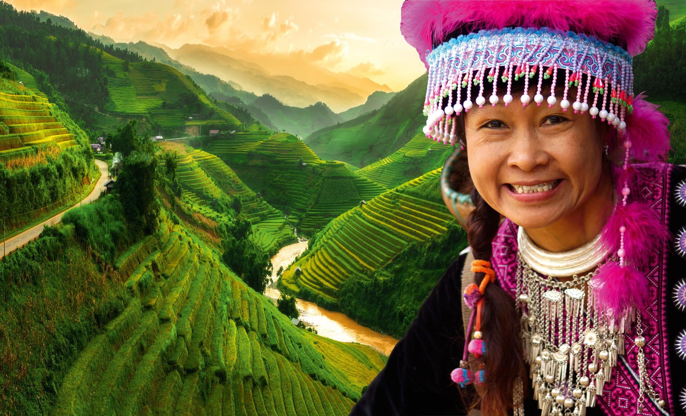 Voyage triangle Le Nord du Vietnam, rencontres et authenticité